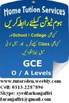 Home Tuition and Home Tutor Provider in Karachi,Lahore,Islamabad 0313-2287896 Tutor Registration Form: http://tutorsden.weebly.com/registration-form.html